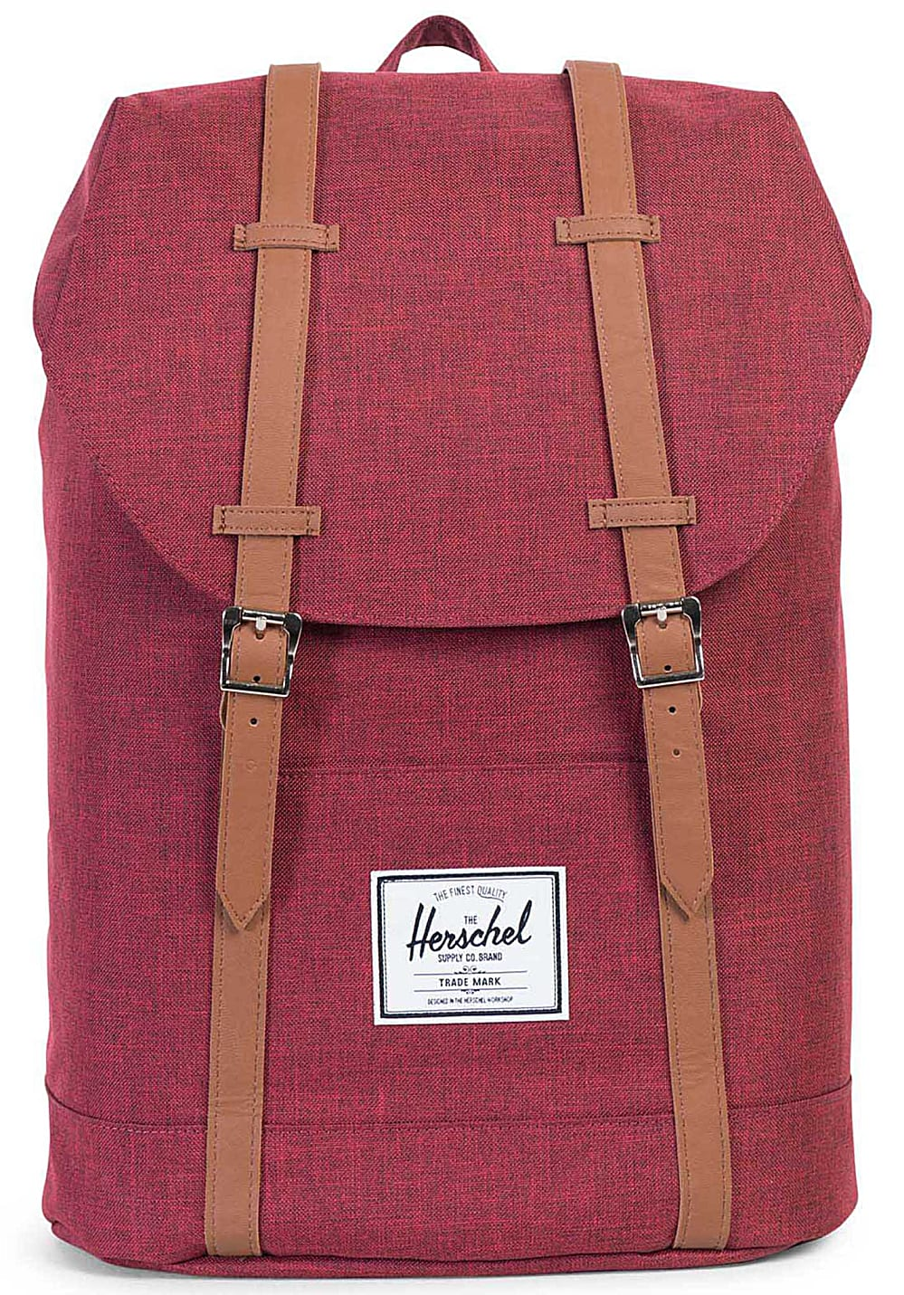 herschel supply co retreat 19 5l rucksack rot planet sports. Black Bedroom Furniture Sets. Home Design Ideas