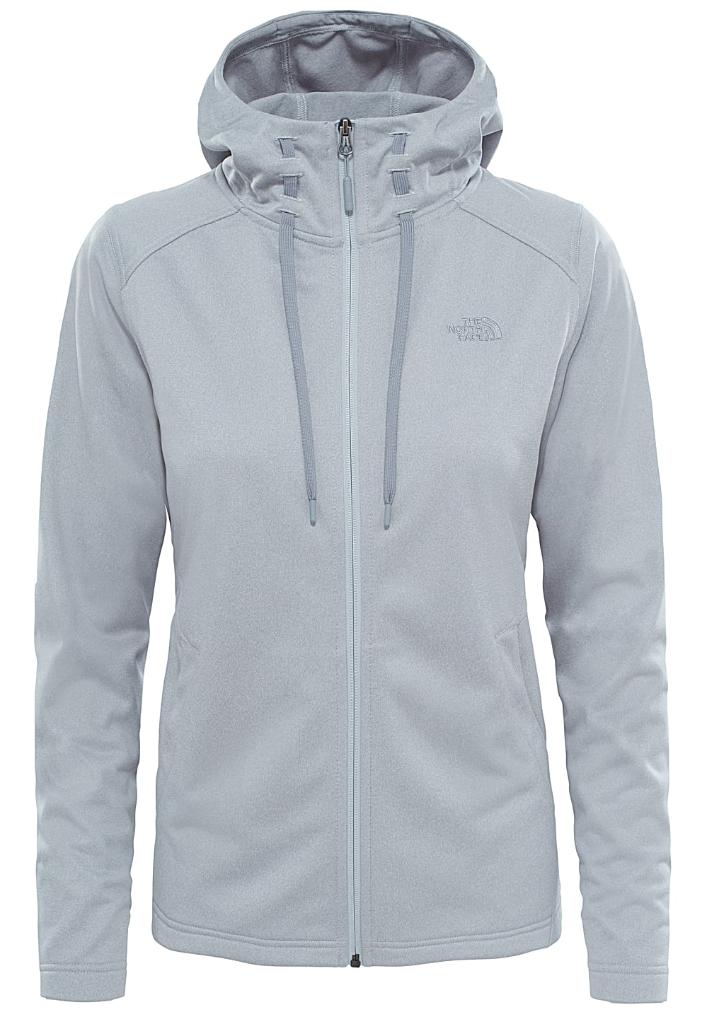 THE NORTH FACE Tech Mezzaluna Fleecejacke für Damen Grau