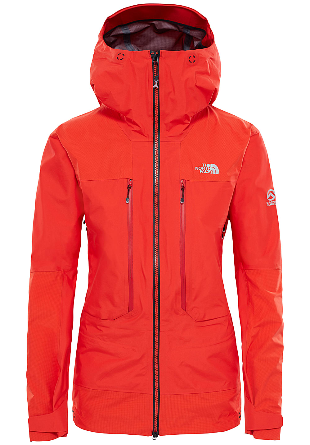 the north face jacke damen rot