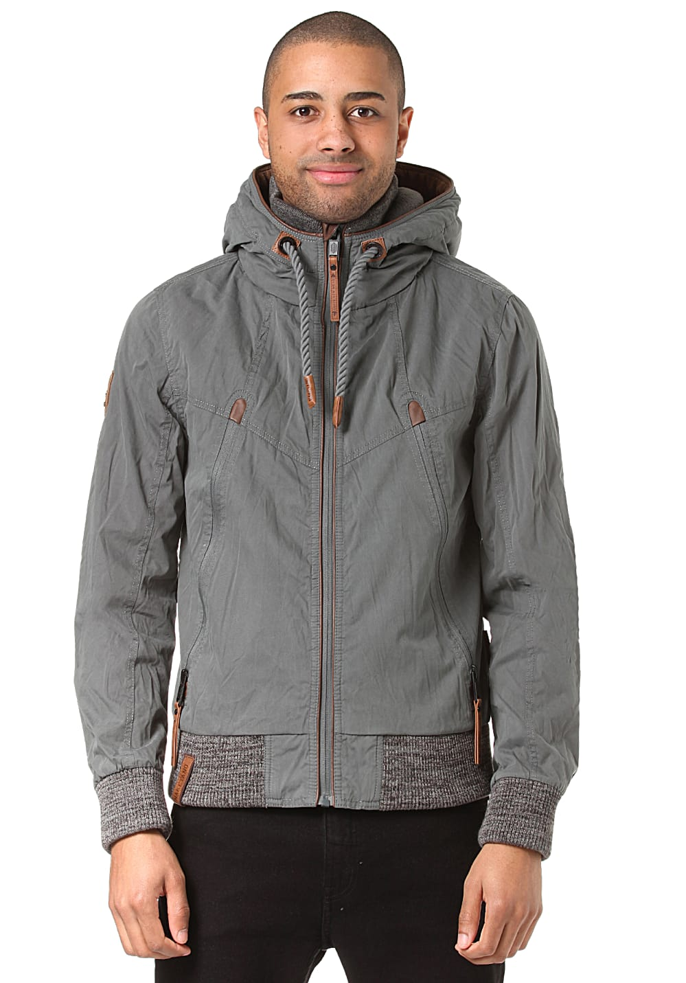 NAKETANO Old Boy Jacke für Herren Grün Planet Sports