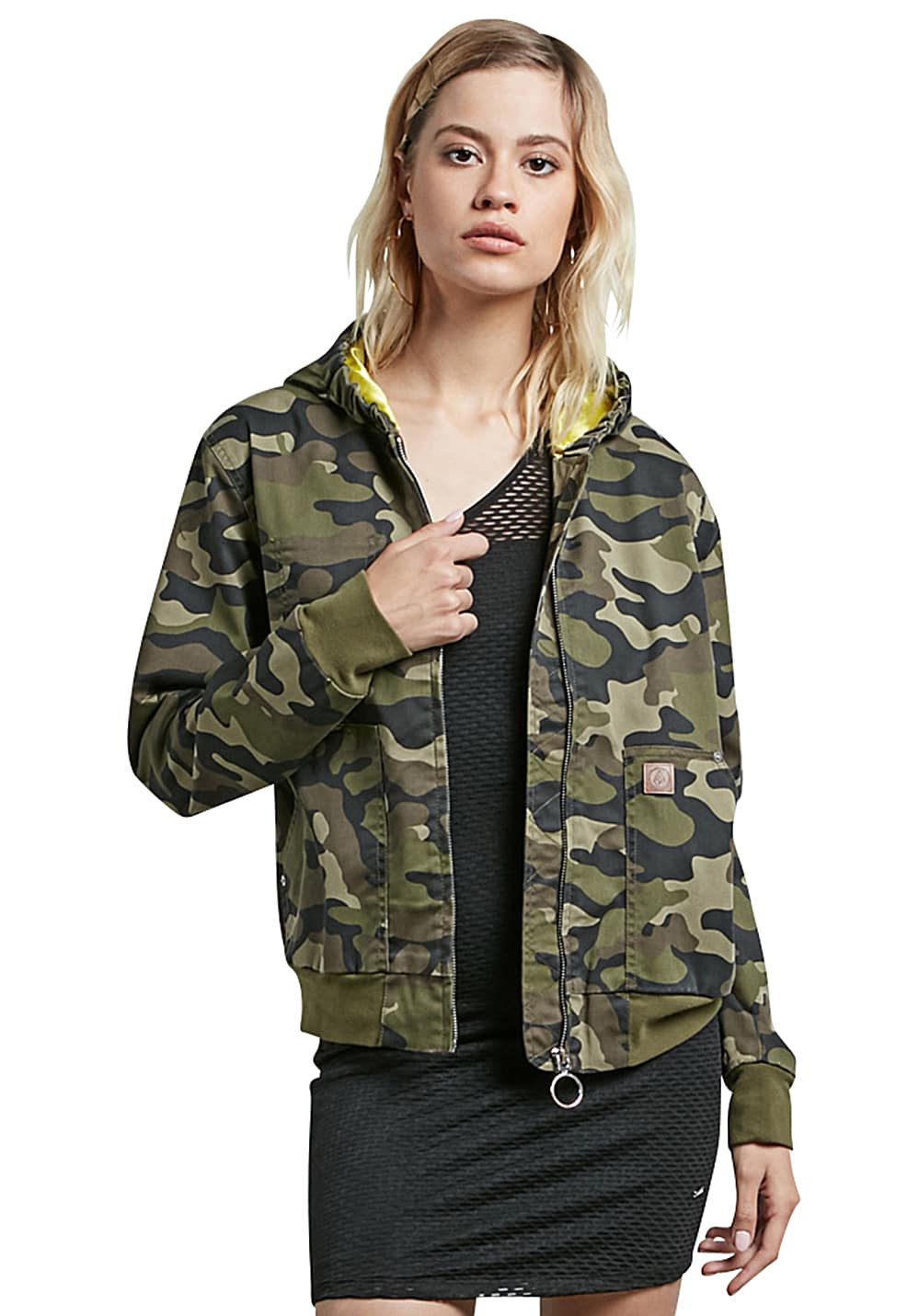 official photos 05643 feee3 Volcom Frochickie - Jacke für Damen - Camouflage - Planet Sports