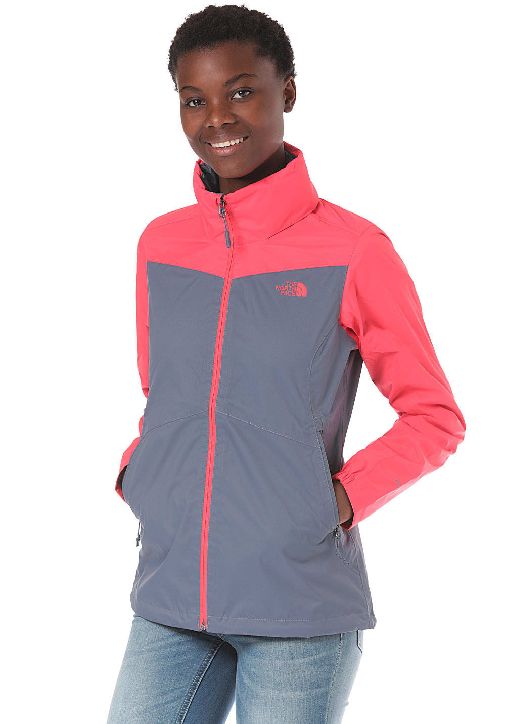 THE NORTH FACE Resolve Plus Outdoorjacke für Damen Grau