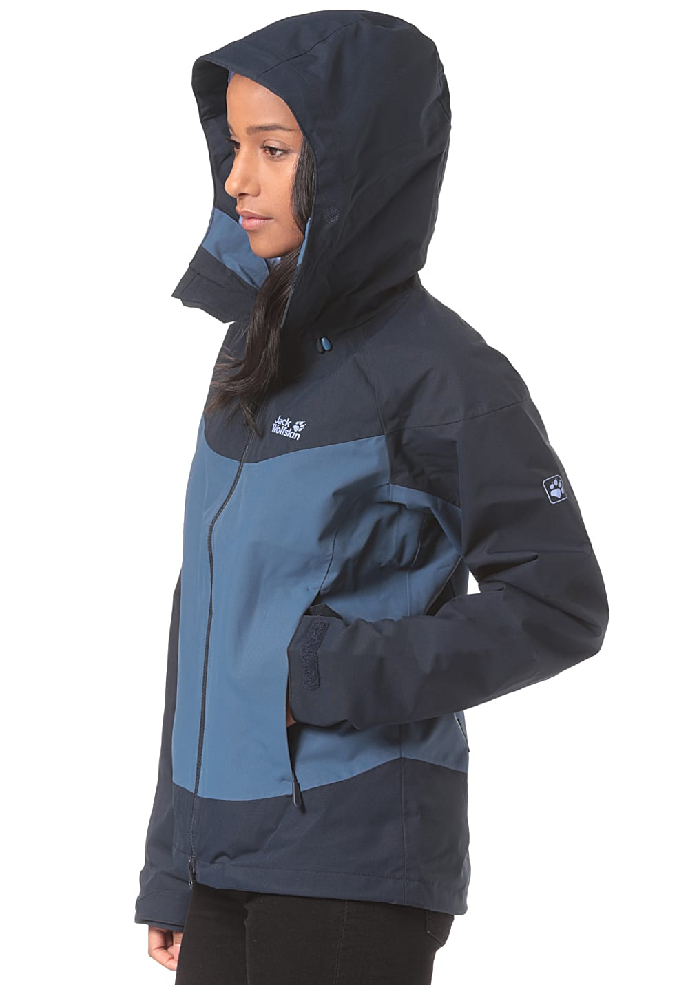 official photos 11fa6 baea3 Jack Wolfskin North Ridge - Outdoorjacke für Damen - Blau