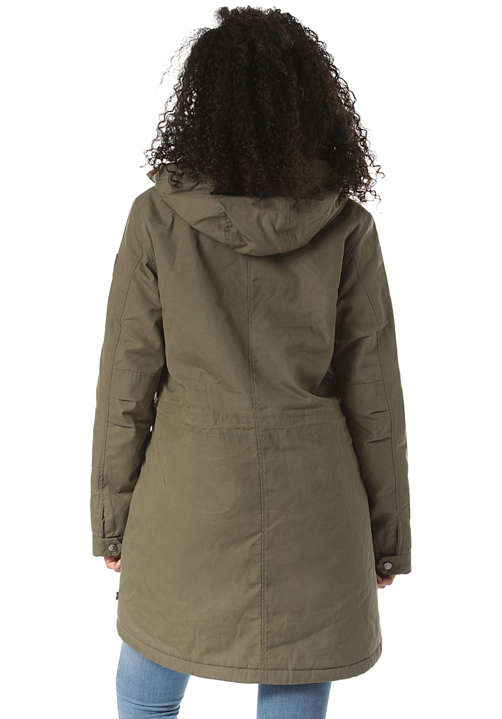 separation shoes f028e a768e FJÄLLRÄVEN Greenland Winter Parka - Funktionsjacke für Damen - Grün