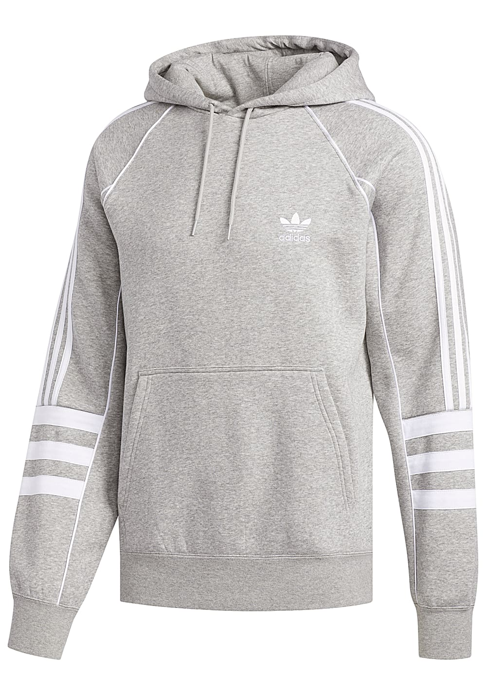 low priced cb7fb ca629 adidas Originals Auth - Kapuzenpullover für Herren - Grau