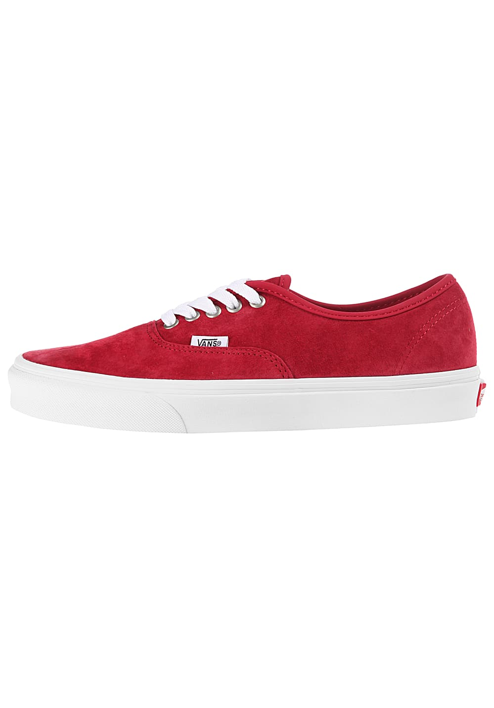 VANS Authentic Sneaker für Damen Rot