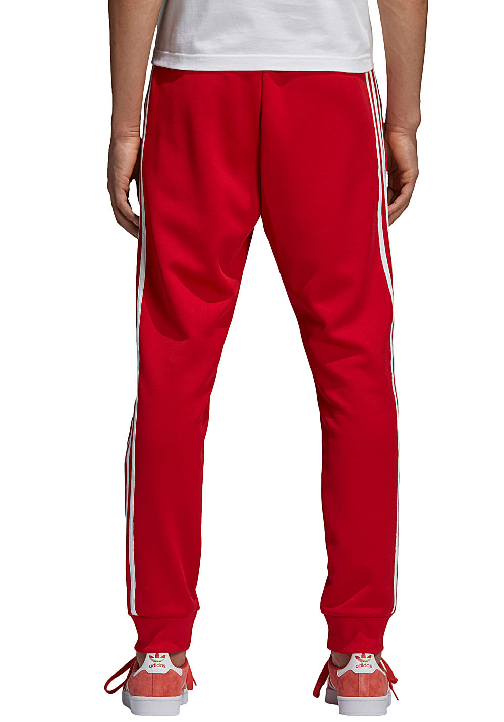 588770b1c9bea0 adidas Originals Sst Tp - Trainingshose für Herren - Rot - Planet Sports  adidas jogging hosen