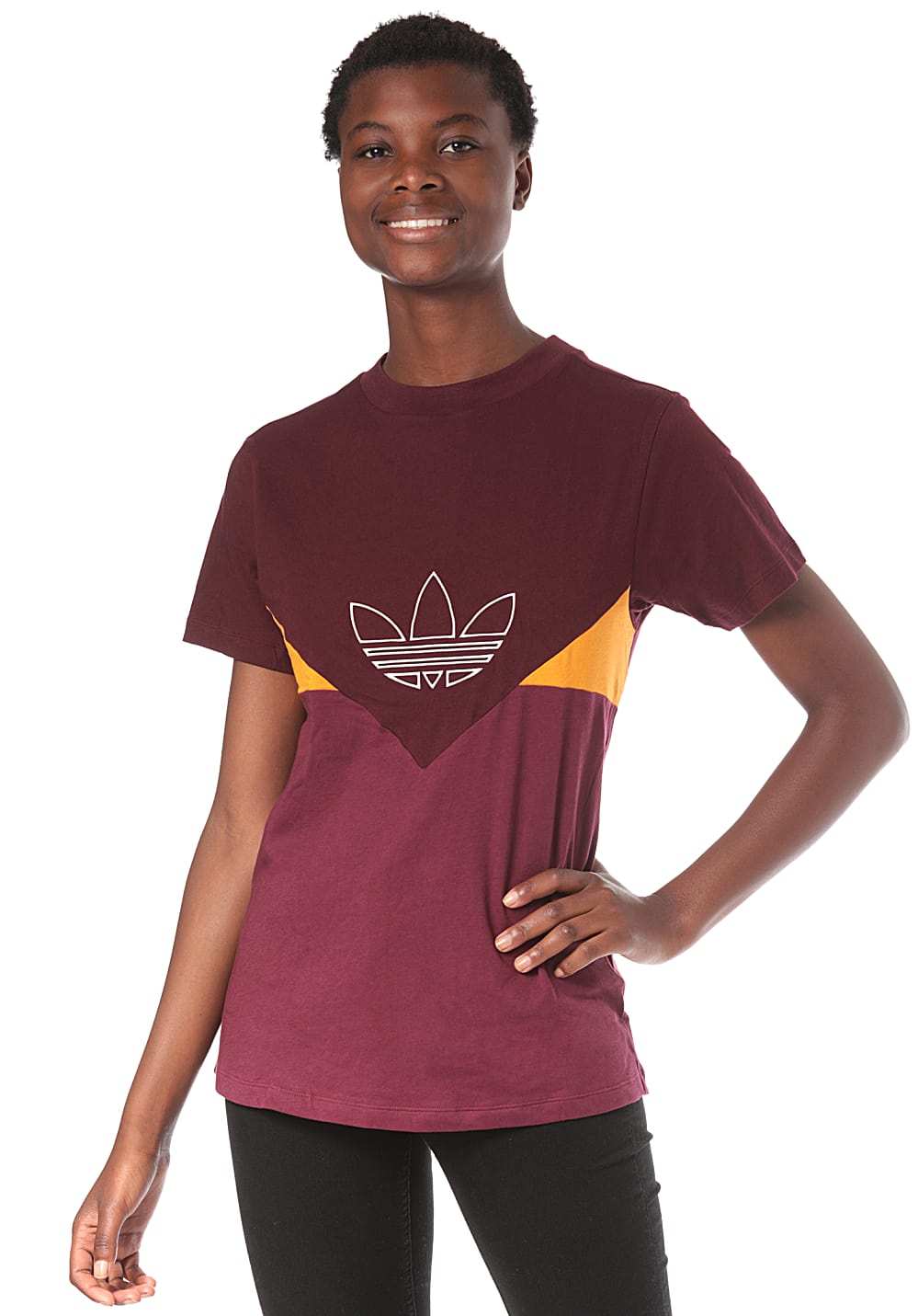 adidas Originals Colorado T Shirt für Damen Rot