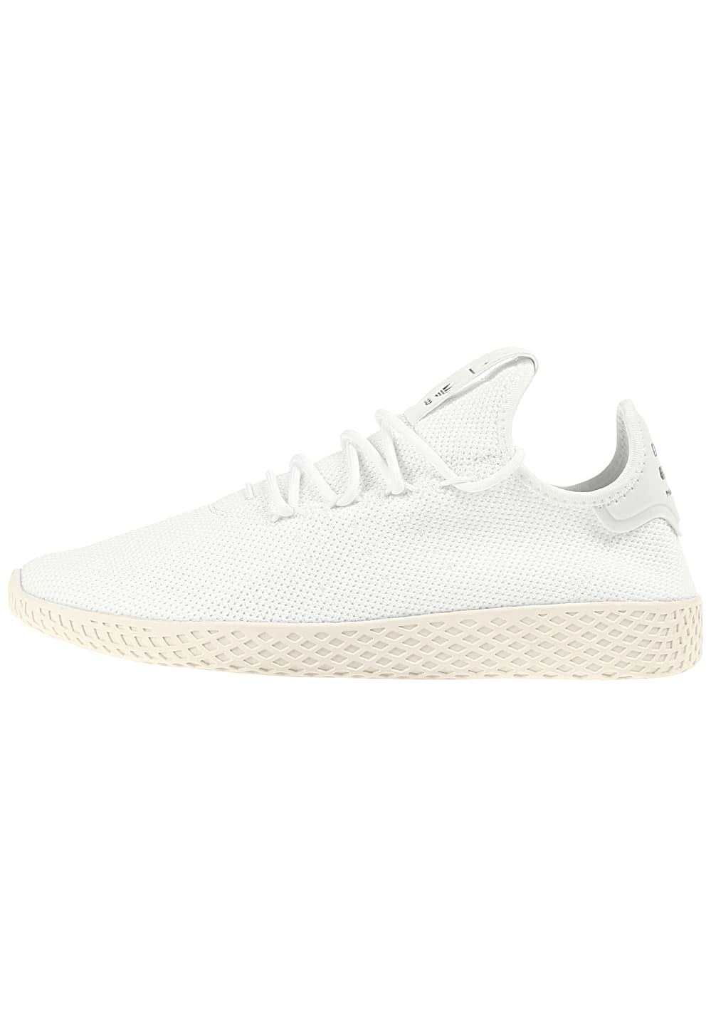 adidas Originals Pharrell Williams Tennis HU Sneaker für Herren Weiß