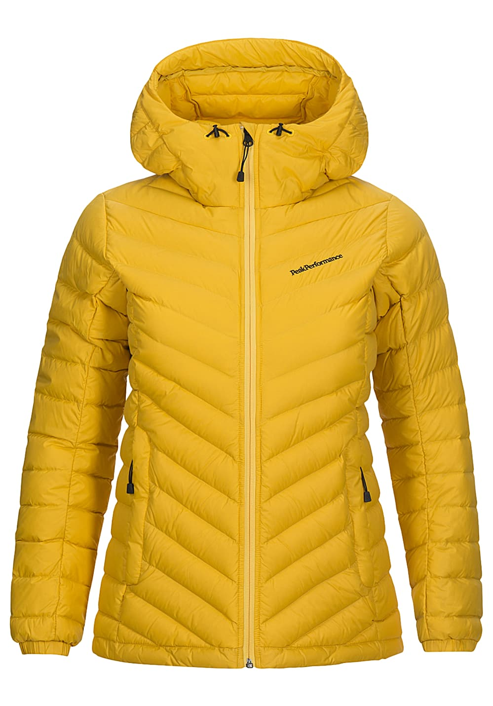 PEAK PERFORMANCE Frost Twill Outdoorjacke für Damen Gelb