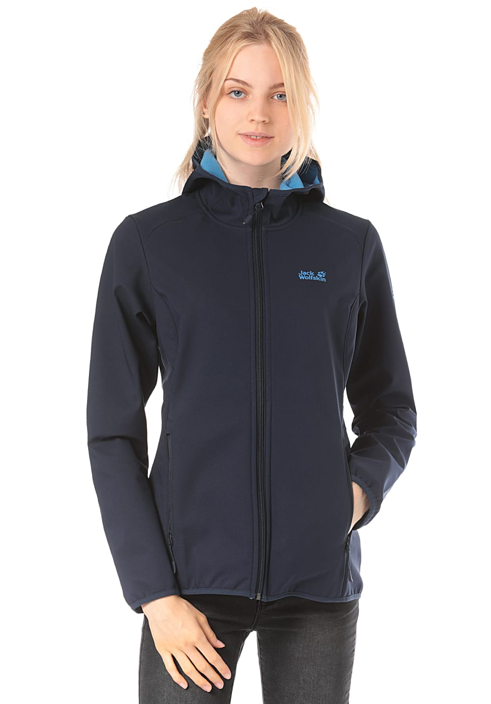Jack Wolfskin Northern Point Outdoorjacke für Damen Blau