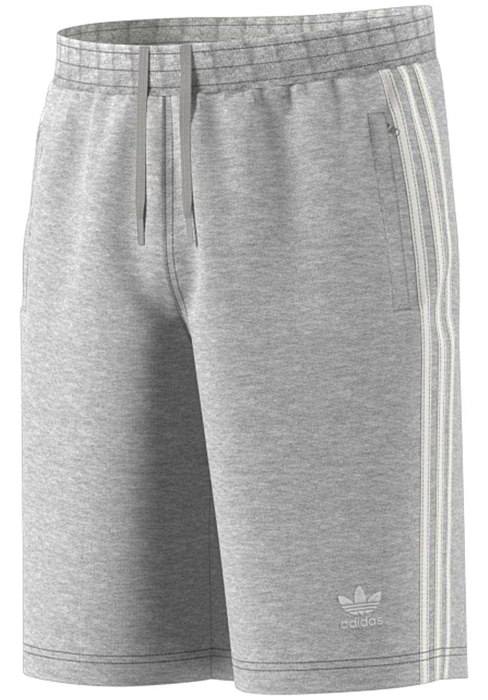 adidas Originals 3 Stripe Shorts für Herren Grau