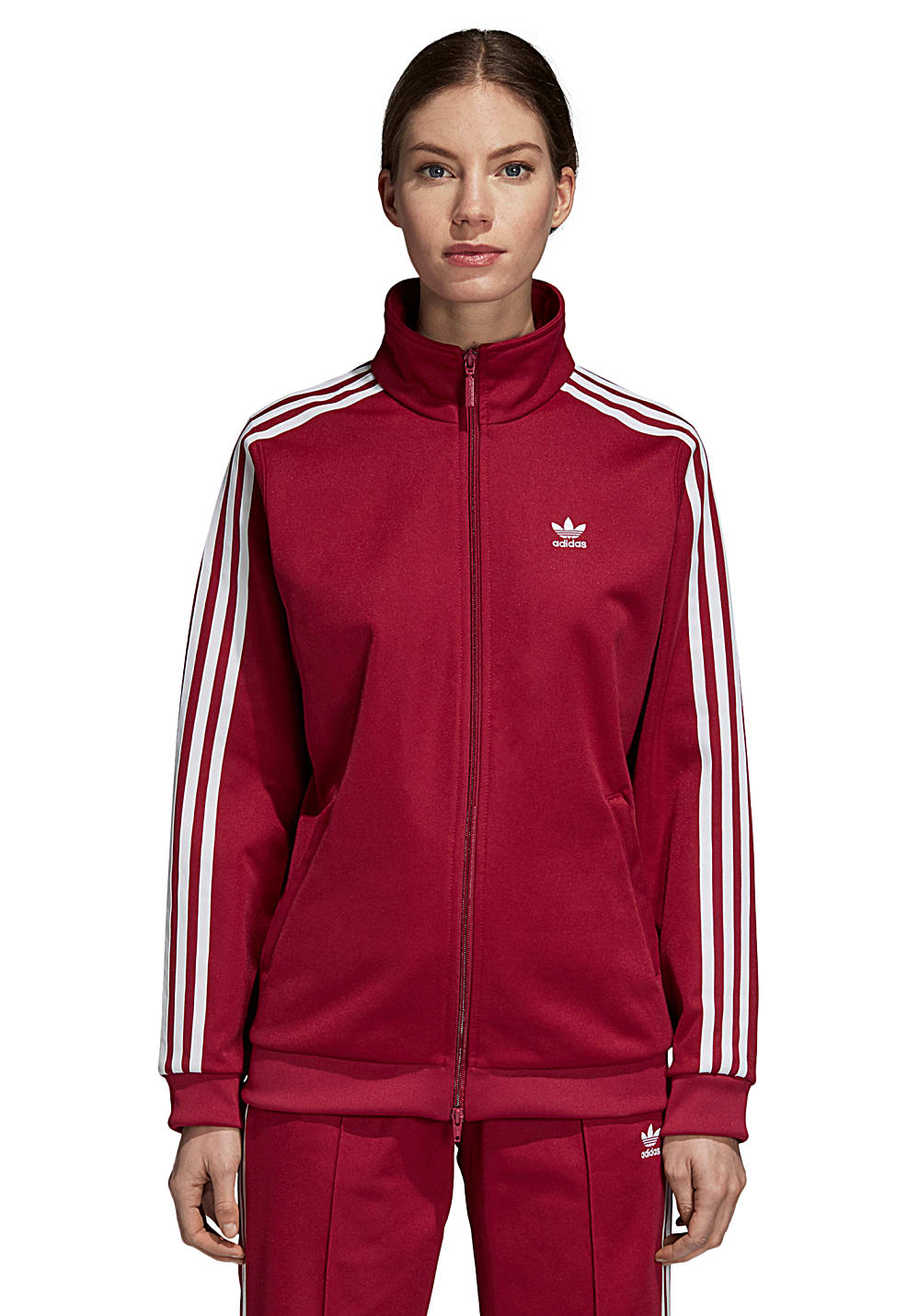 genuine shoes order preview of adidas Originals Contemp Bb - Trainingsjacke für Damen - Rot