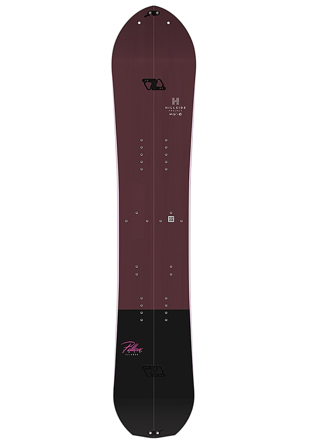 Salomon Pillow Talk 151cm Splitboard für Damen Rot