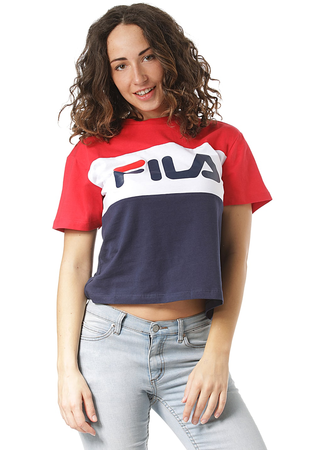 Fila Allison - T-Shirt für Damen - Mehrfarbig - Planet Sports