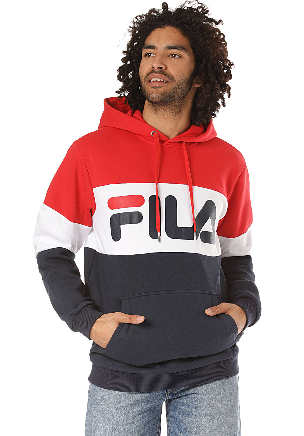 Fila Urban Line Night Blocked Kapuzenpullover für Herren