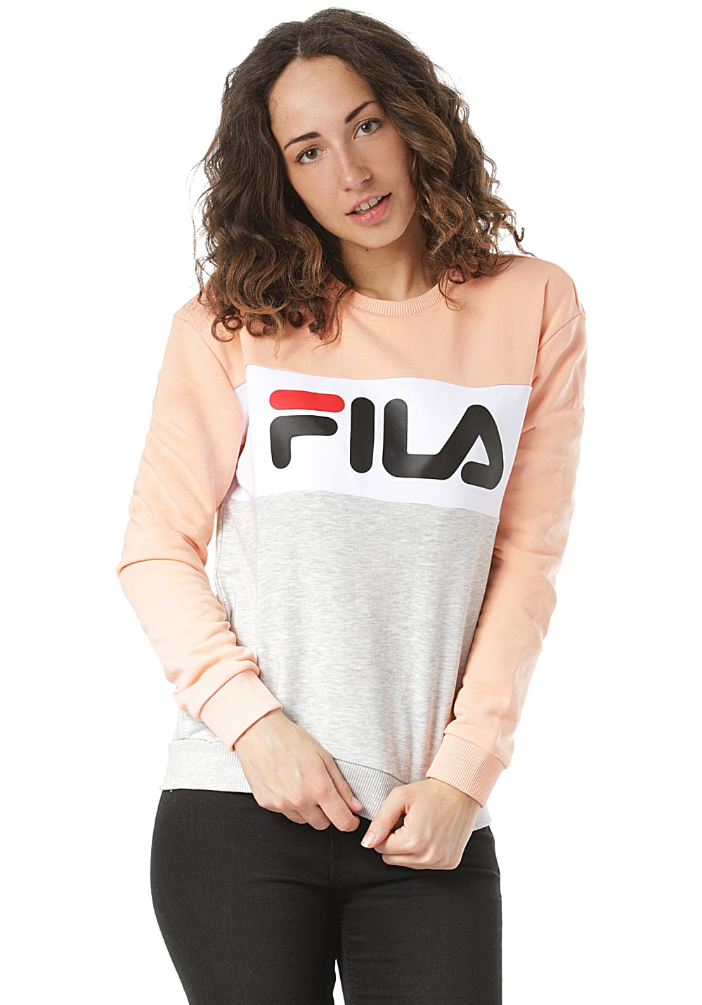 Fila Leah - Sweatshirt für Damen - Grau - Planet Sports