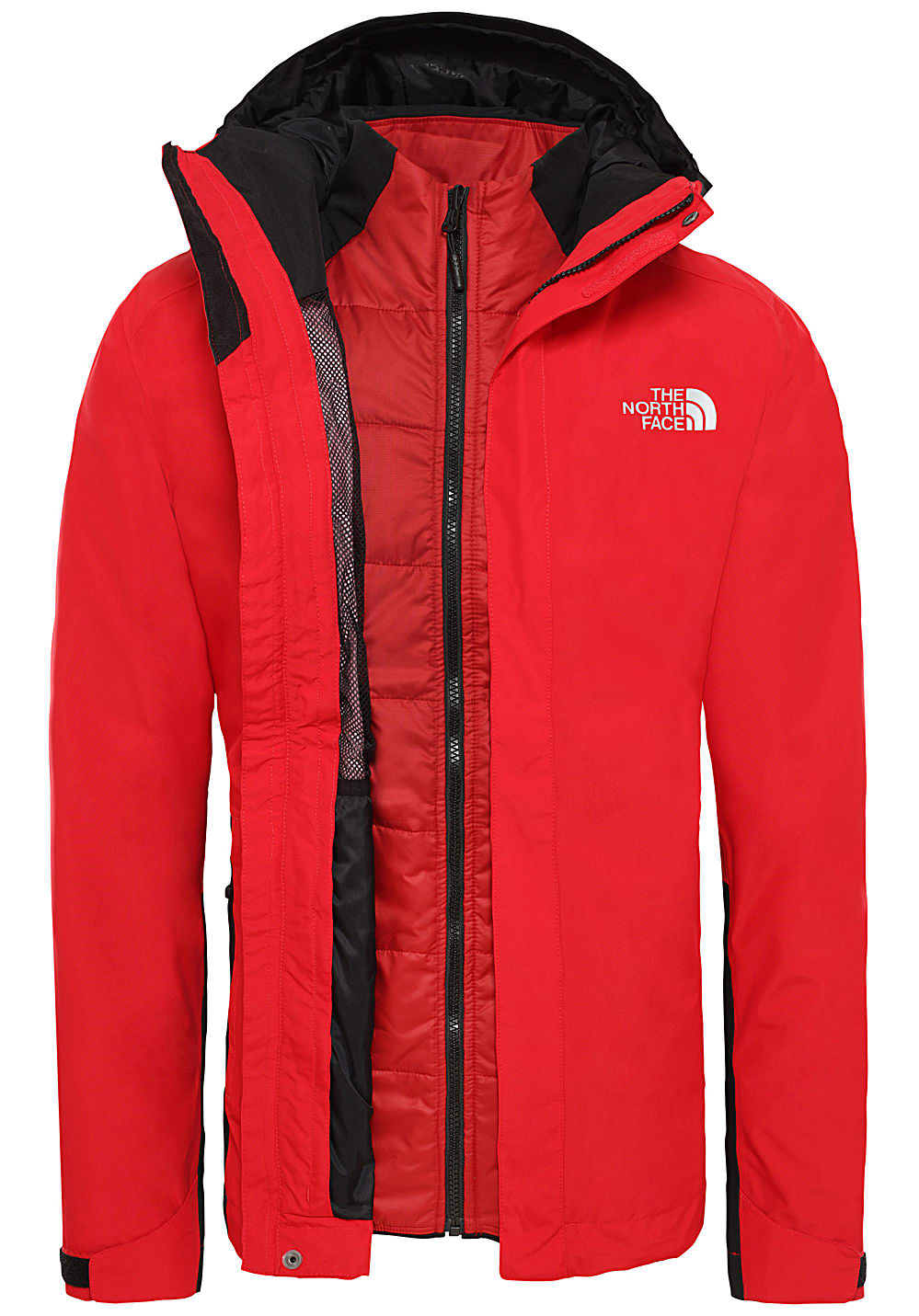 the north face outlet 3in1 jacke herren