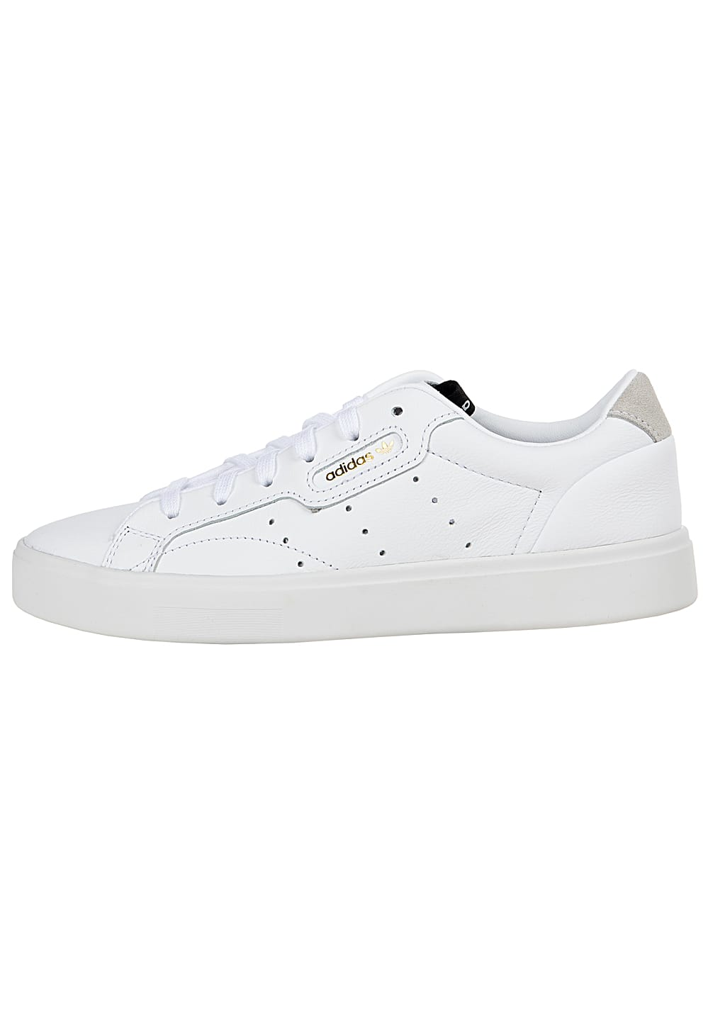adidas Originals Sleek Sneaker für Damen Weiß Planet
