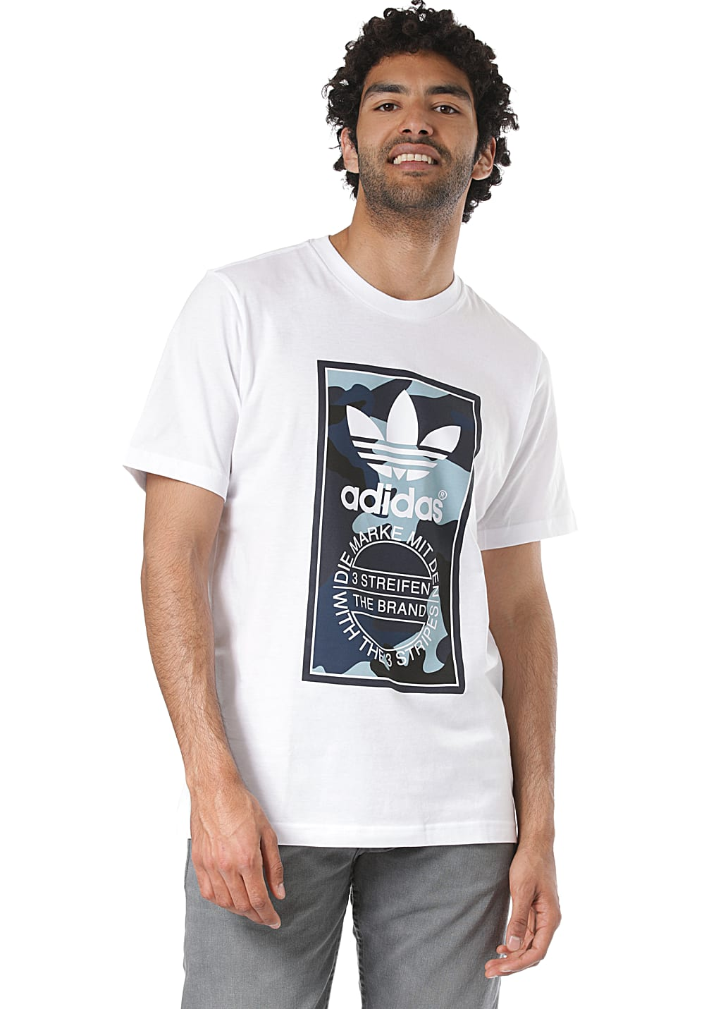 adidas Originals Print T Shirt Herren | JD Sports
