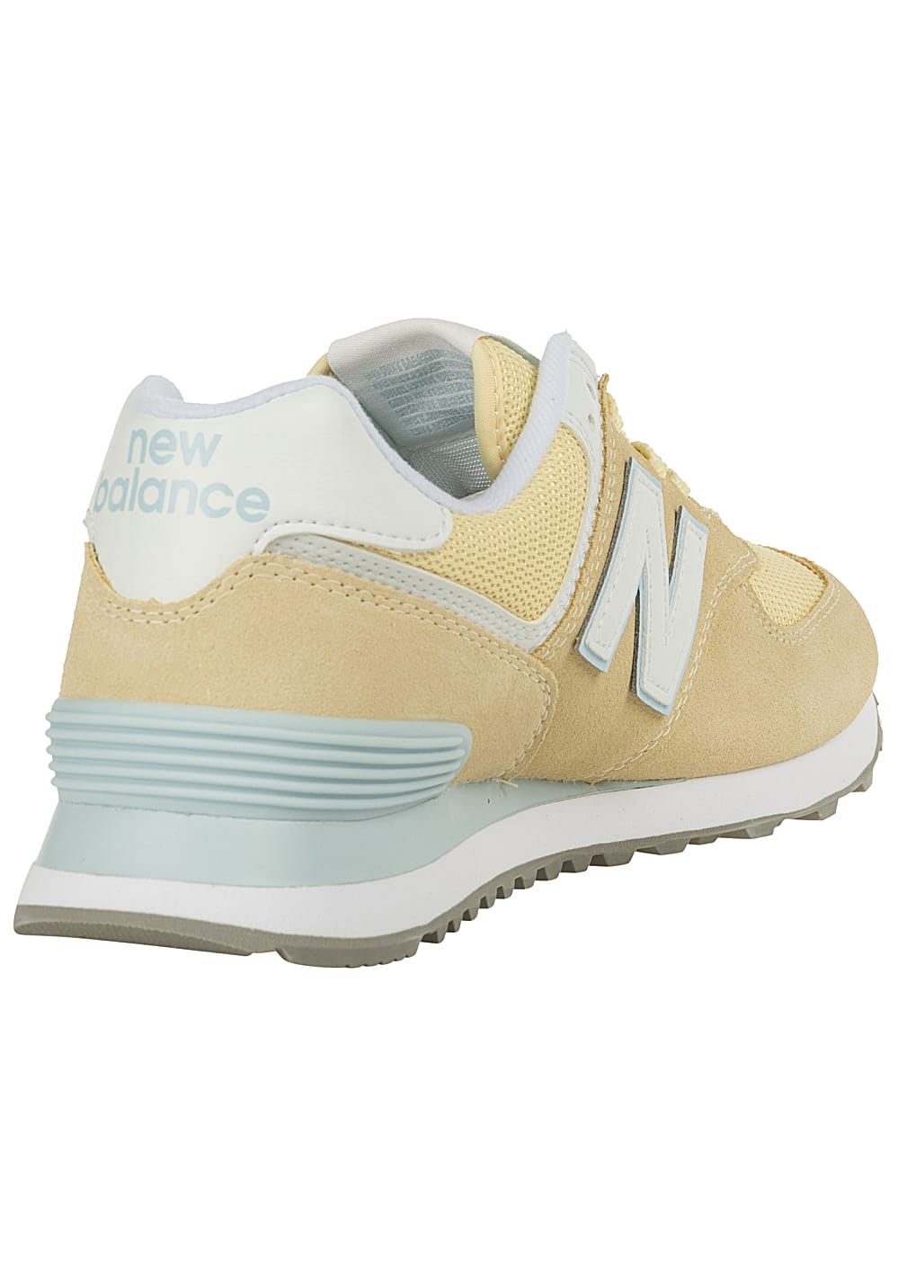 66ae61060dea2c NEW BALANCE WL574 B - Sneaker für Damen - Gelb - Planet Sports