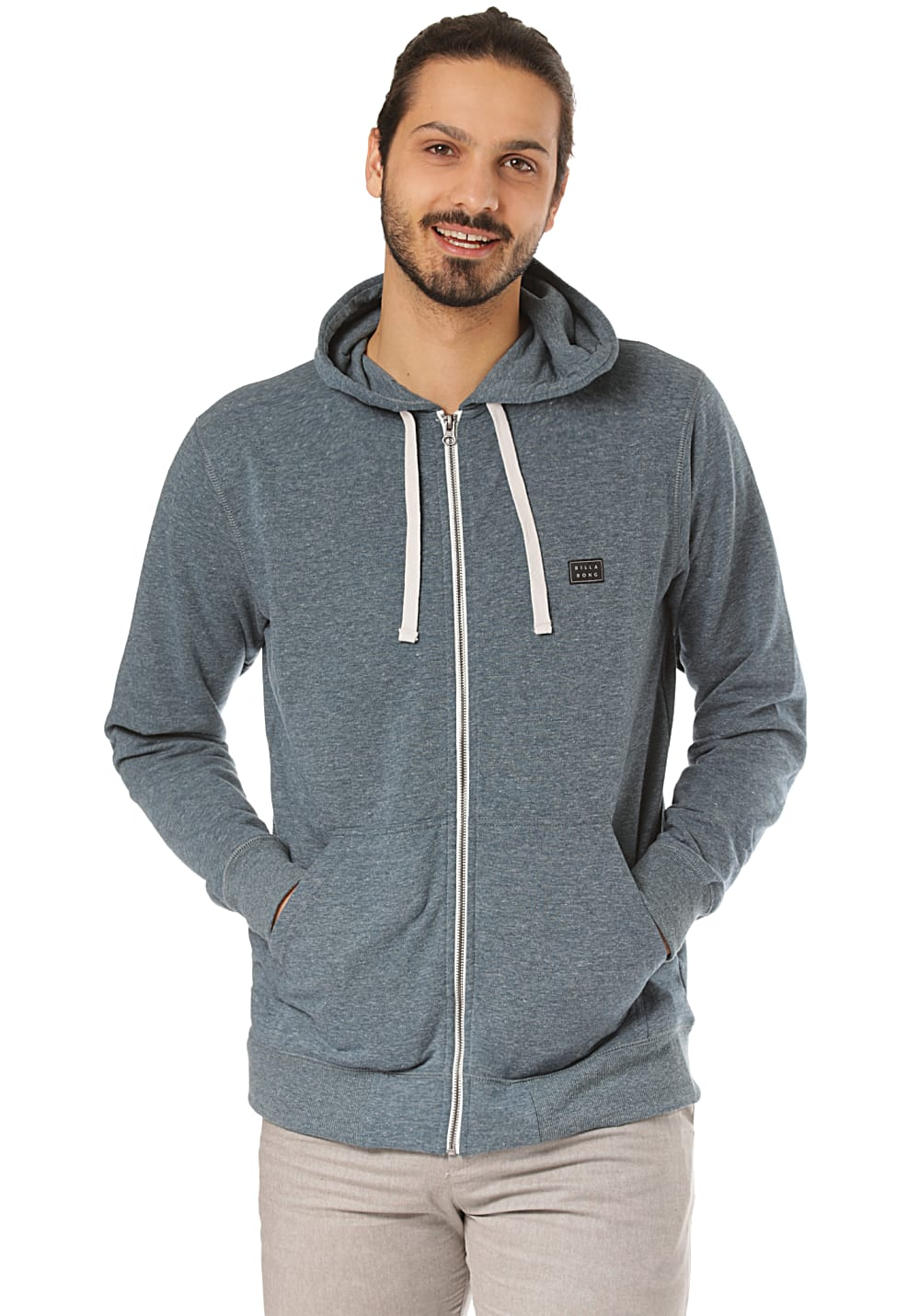 BILLABONG All Day Zip Kapuzenjacke für Herren Blau