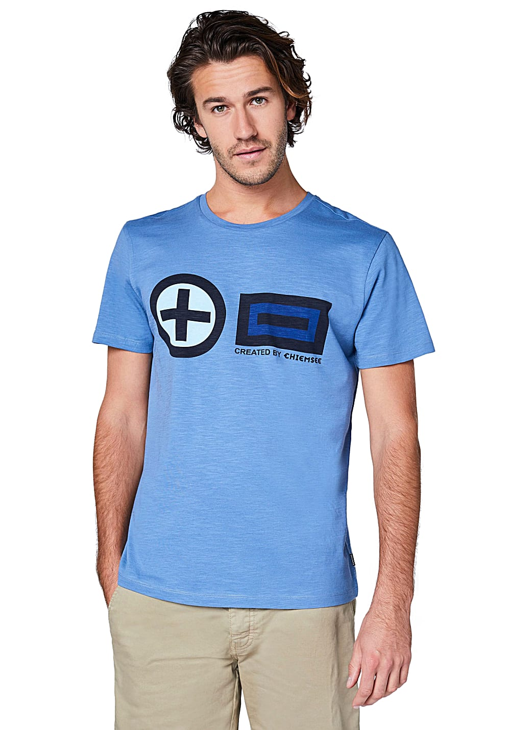 73e1b055f76811 Chiemsee T-Shirt - T-Shirt für Herren - Blau - Planet Sports