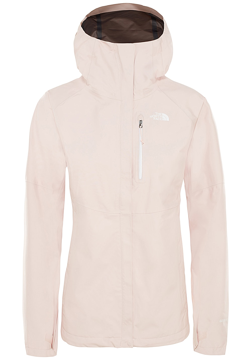 the north face rosa jacke