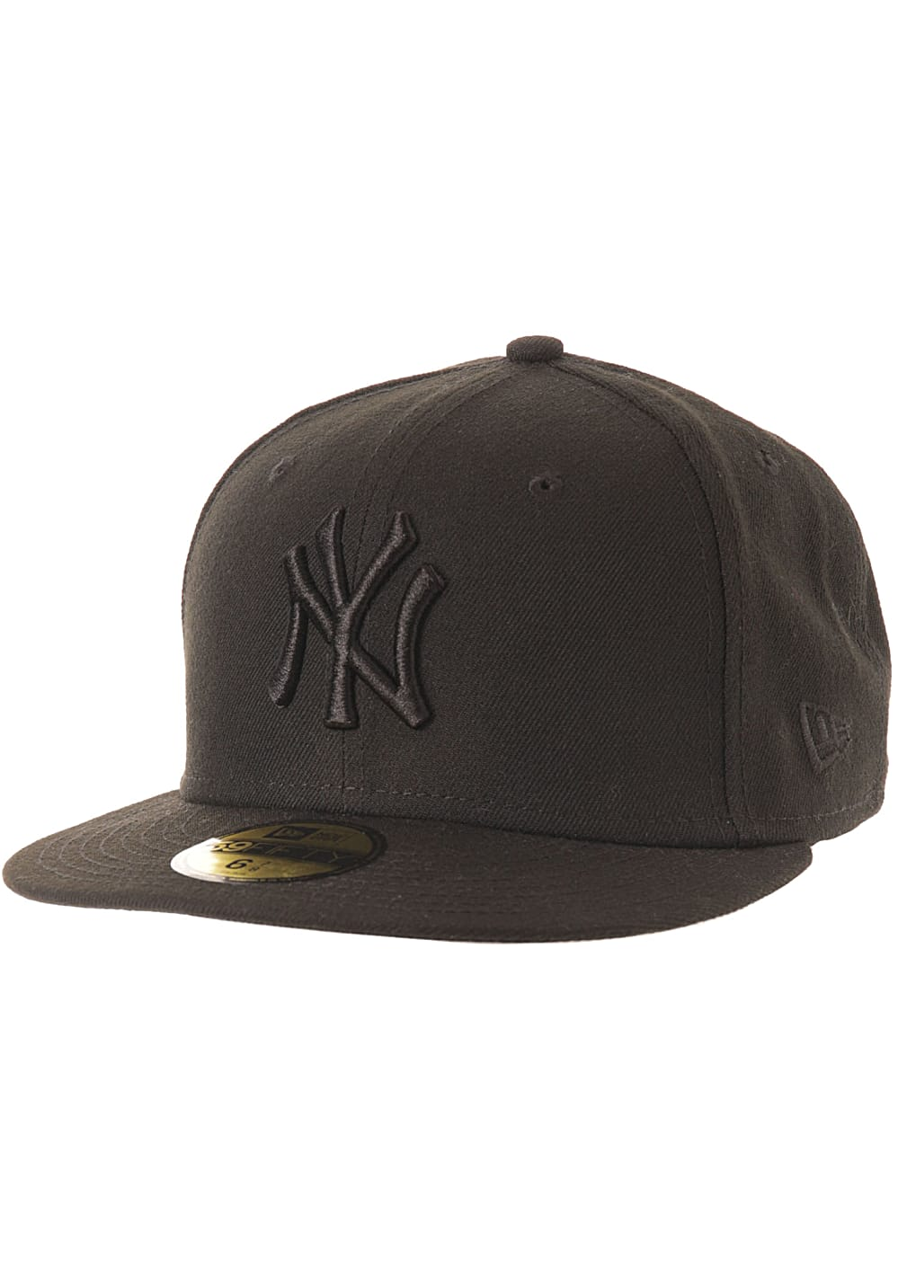 NEW Era 59Fifty New York Yankees - Fitted Cap - Black - Planet Sports 8345d1d2ac2