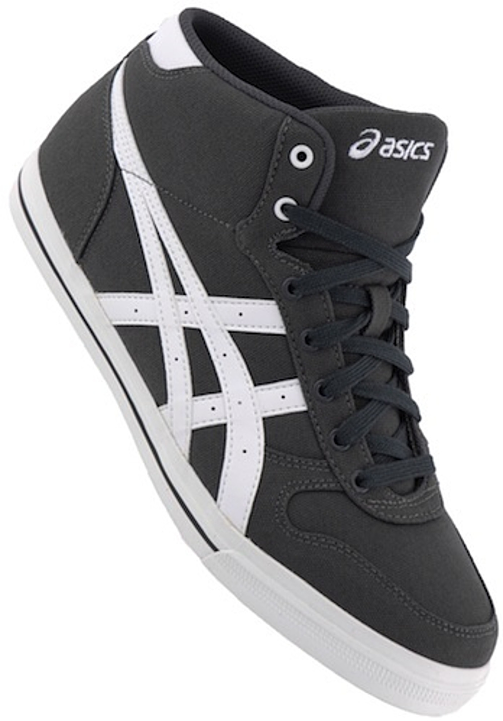 asics aaron mt sneakers with heels