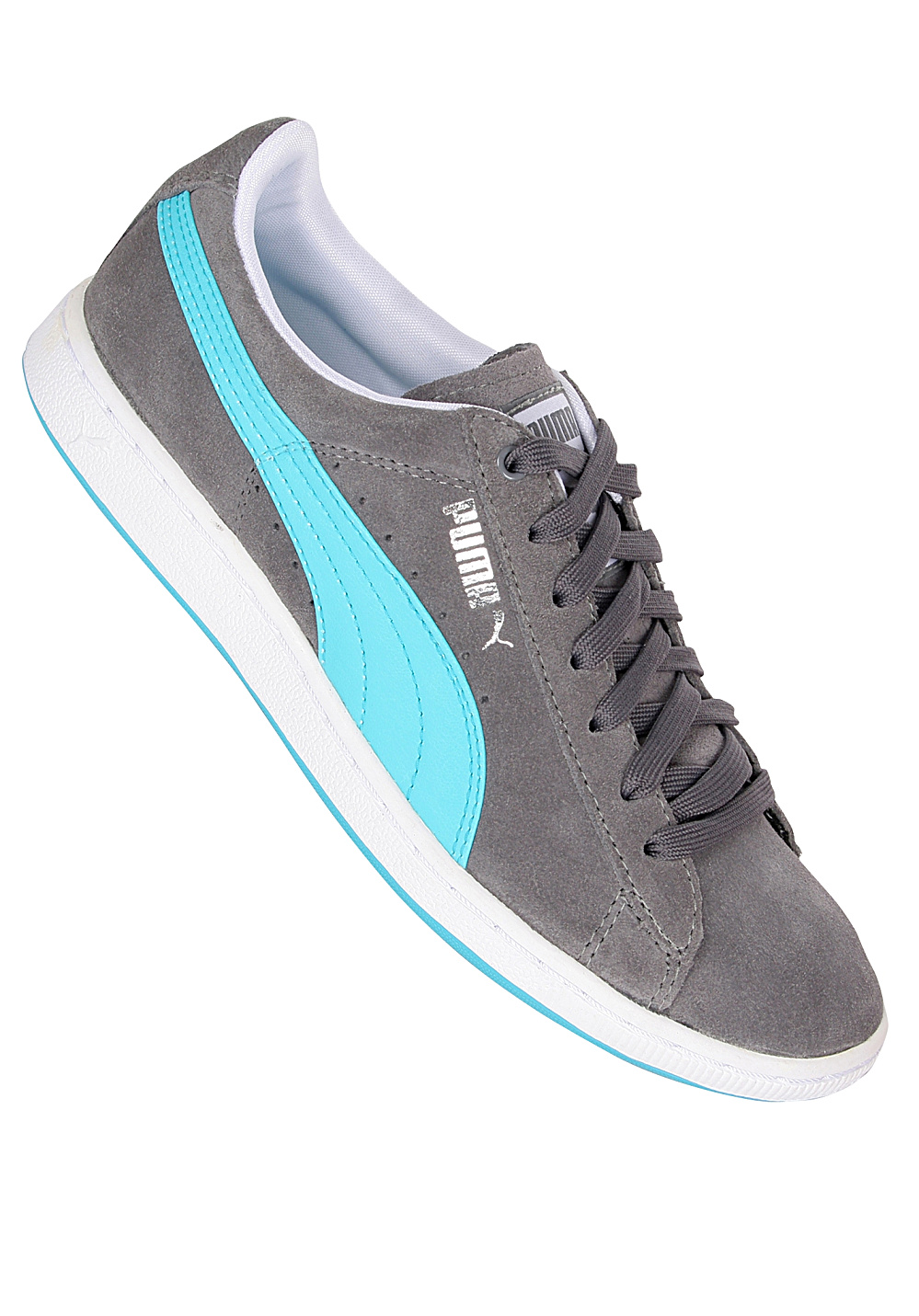 9b4000c2faa Puma Supersuede Eco - Sneakers for Women - Grey - Planet Sports