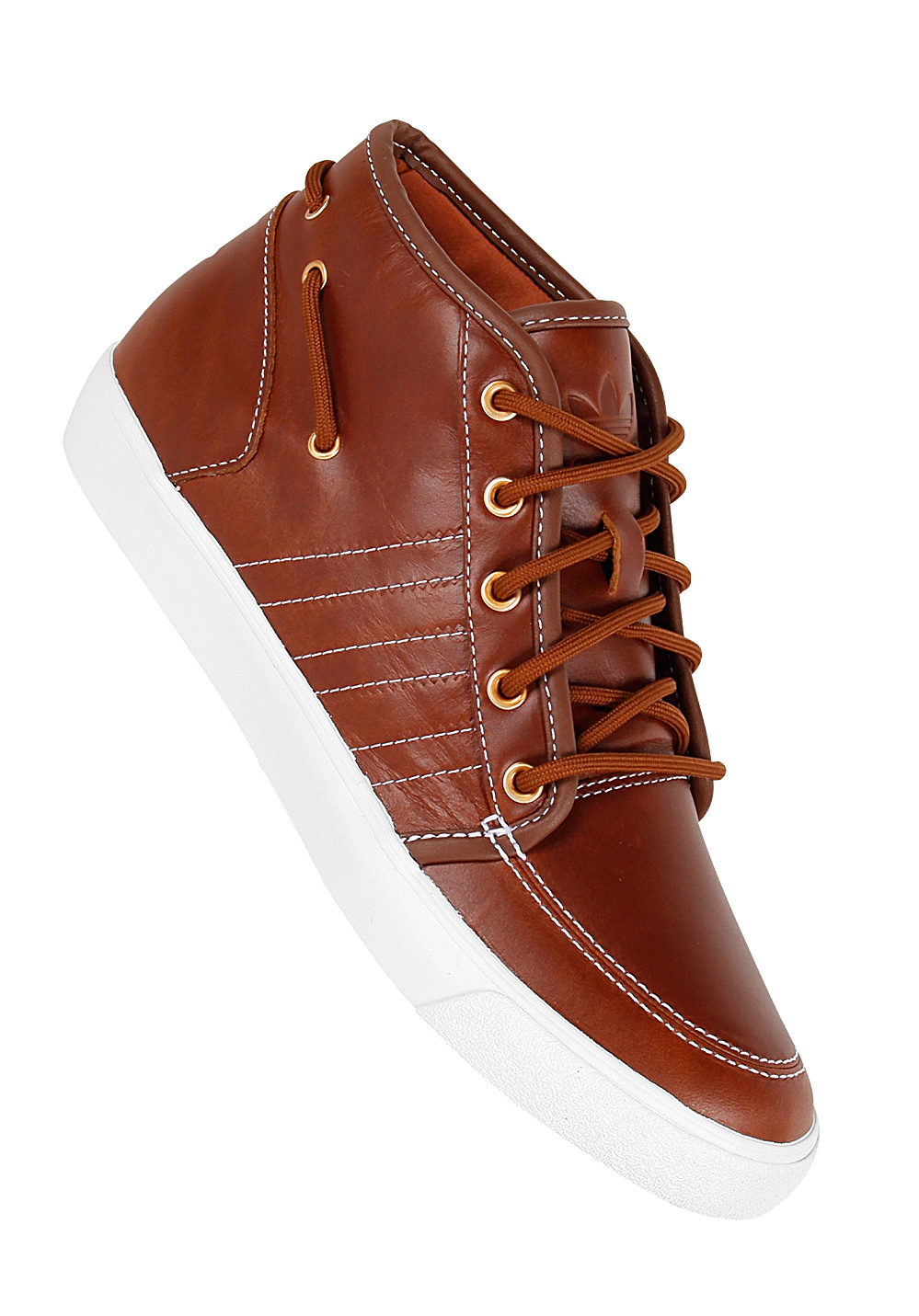 quality design 47d09 31794 ADIDAS Court Deck Vulc Mid - Sneakers for Men - Brown - Plan