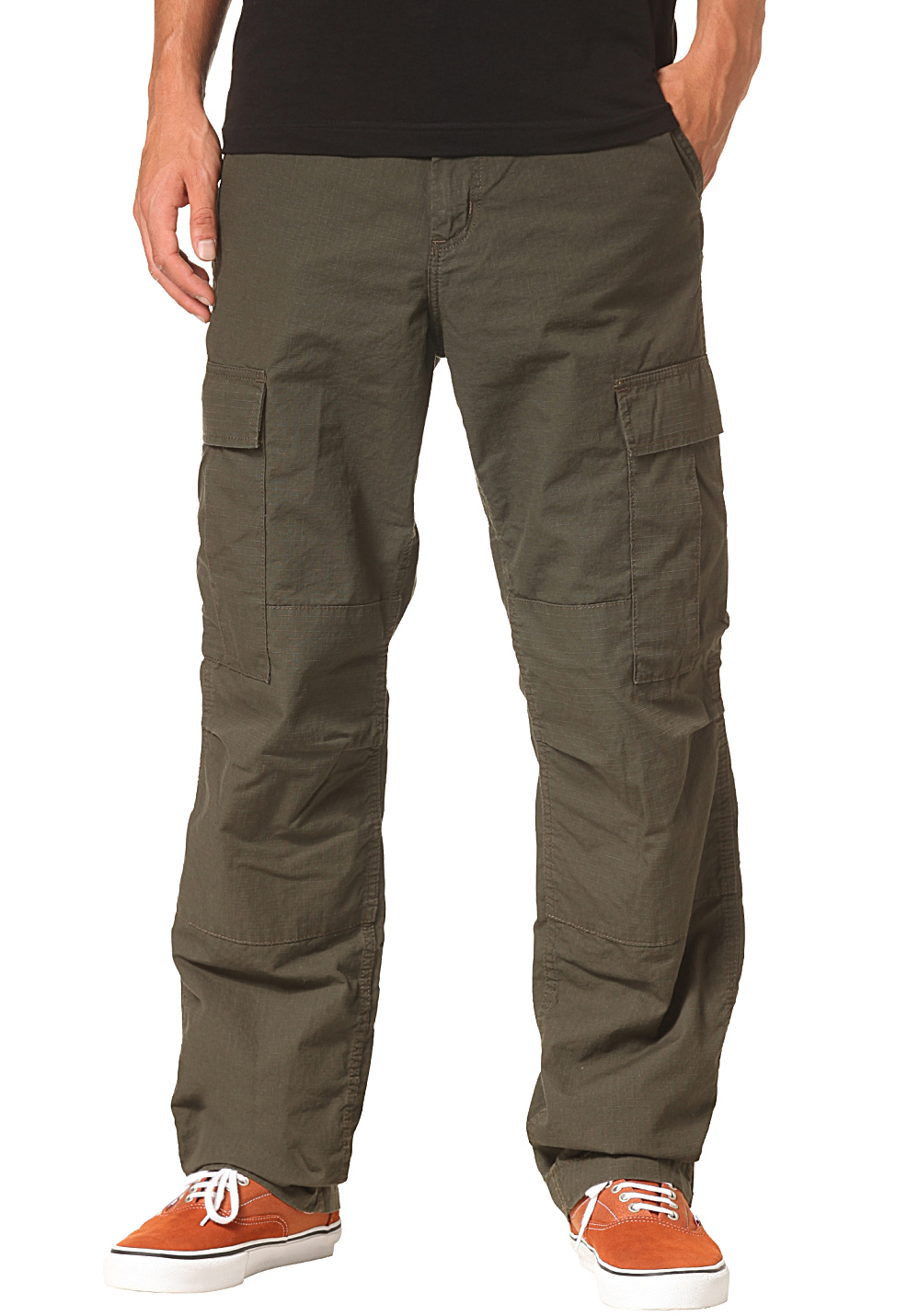 carhartt wip regular pantalon cargo pour homme vert planet sports. Black Bedroom Furniture Sets. Home Design Ideas