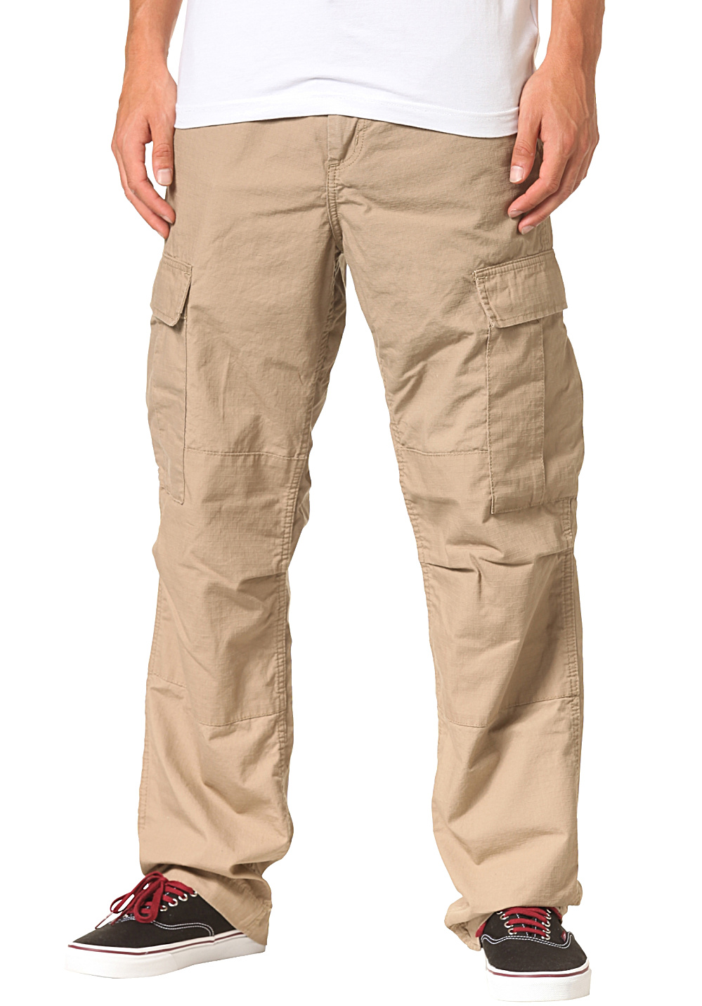 Relaxed seat and thighs Right-leg cargo pocket with cell-phone pocket Straight-leg openings Relaxed seat and thighs provide more mobility when you're wearing Carhartt Men's Rugged Cargo Pants. The right-leg cargo pocket sports cell-phone storage and a pen stall. Hidden metal snaps on the back /5(13).