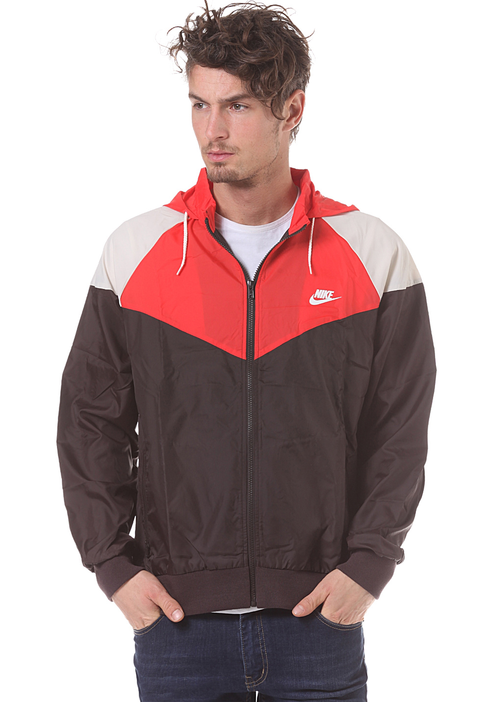 Next. This product is currently out of stock. NIKE SPORTSWEAR. RU Heritage  Windrunner - Jacket for Men 6e7dfa494