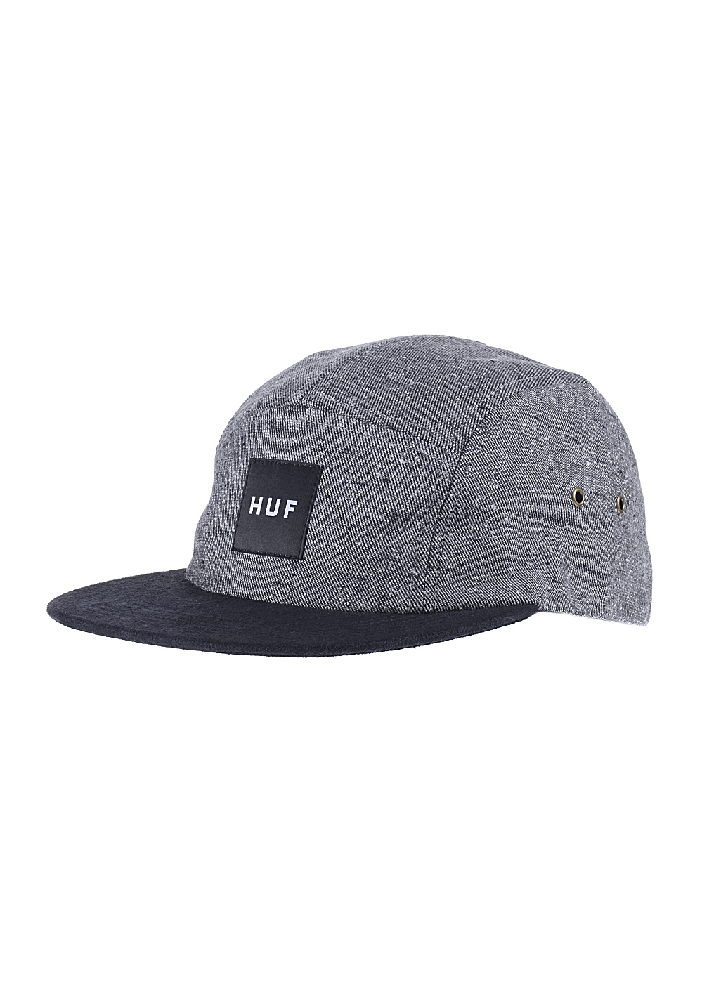 huf tweed volley casquette pour homme gris planet sports. Black Bedroom Furniture Sets. Home Design Ideas