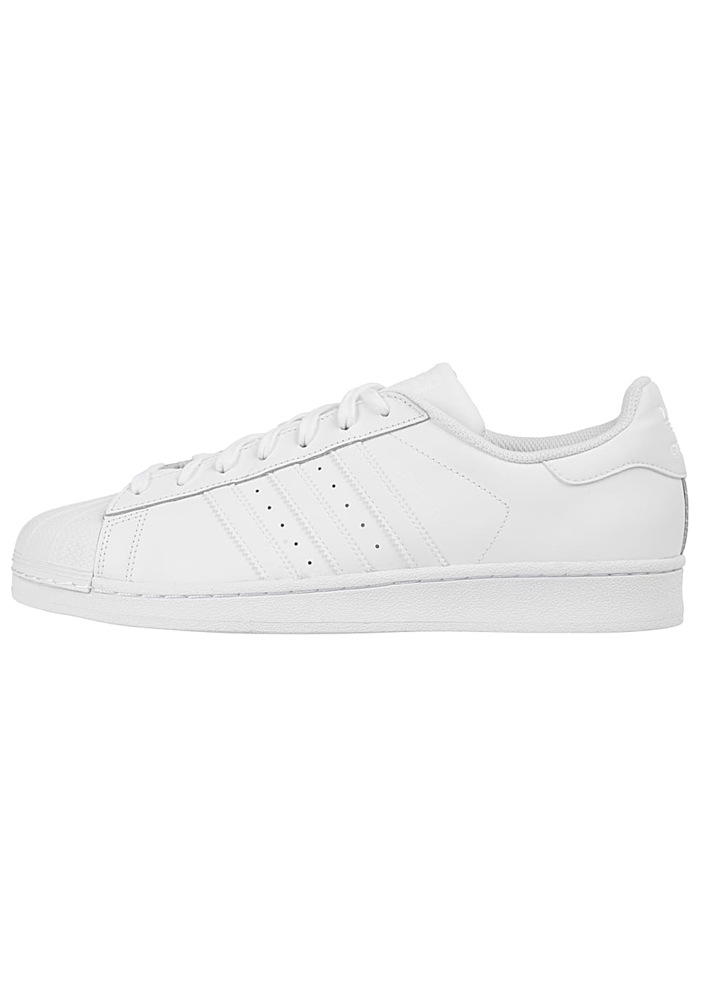 Adidas SUPERSTAR FOUNDATION Sneakers wit glad leer