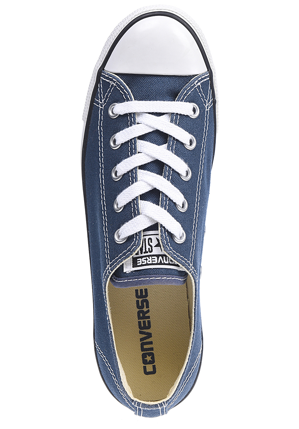 Converse Chuck Taylor All Star Dainty Ox - Sneakers for Women - Blue ... 2e950a815