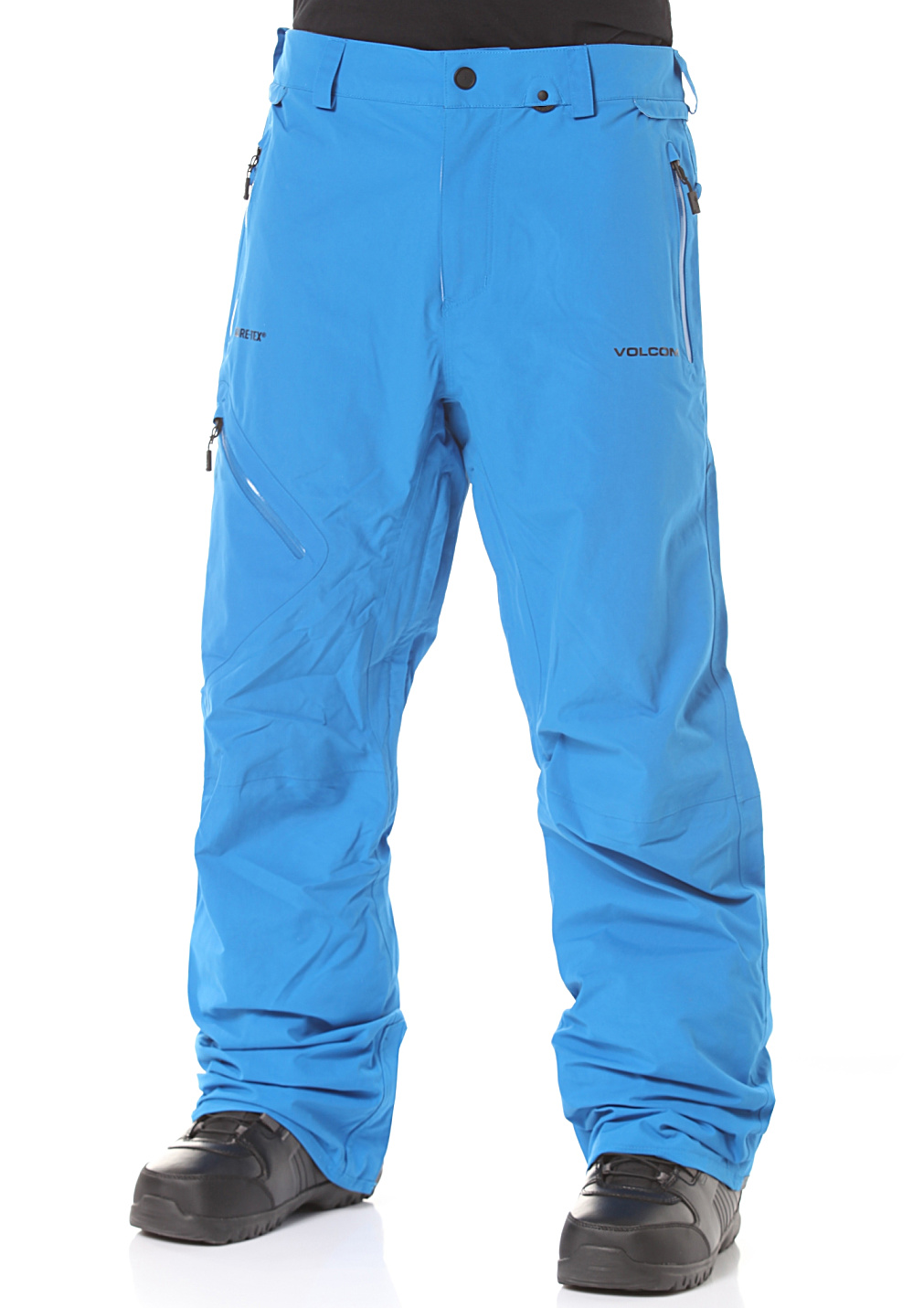 volcom l gore tex pantalon de snowboard pour homme bleu planet sports. Black Bedroom Furniture Sets. Home Design Ideas