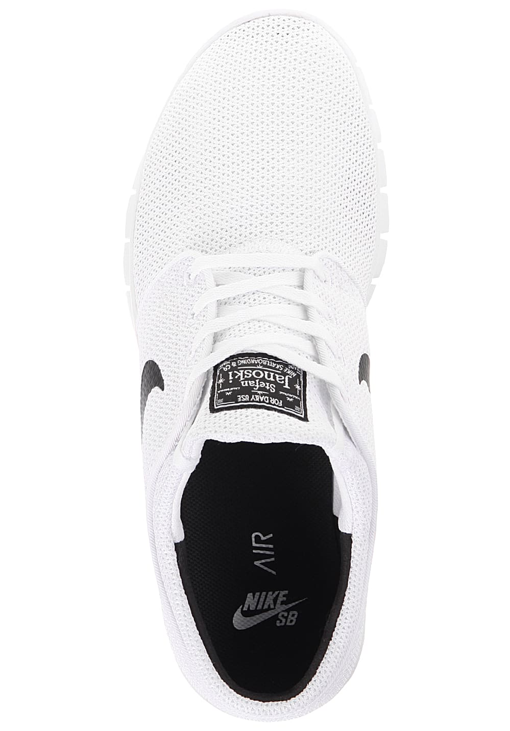 473466b96a2535 NIKE SB Stefan Janoski Max - Sneakers - White - Planet Sports