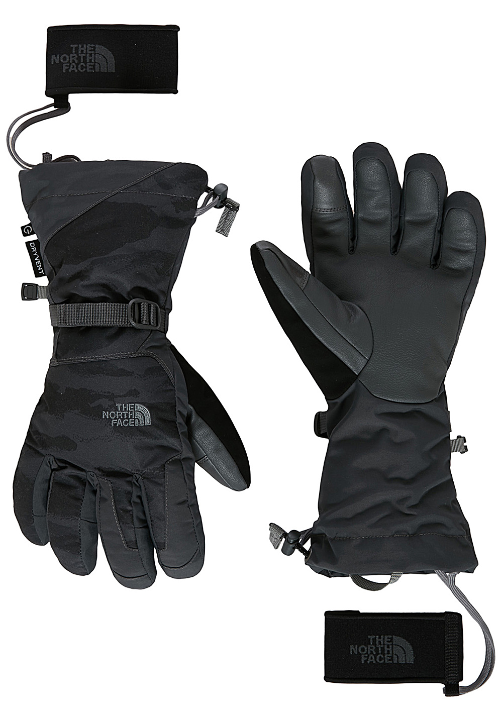 the north face montana etip gants de snowboard pour homme noir planet sports. Black Bedroom Furniture Sets. Home Design Ideas