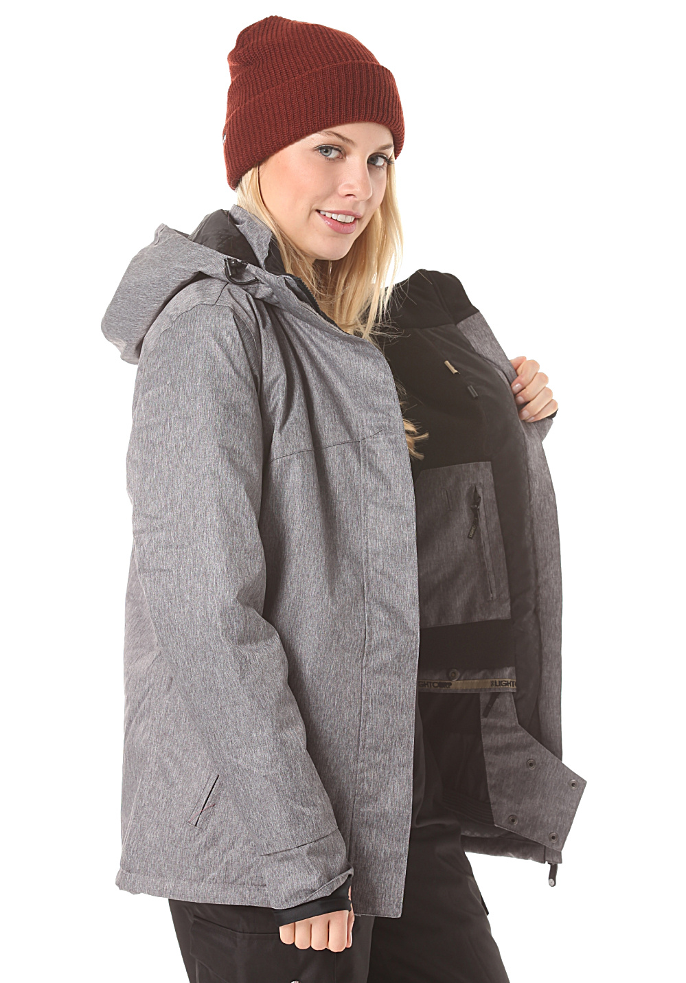 Crusader Grey Crusader Light Jacket Jacket Heather 4x58U