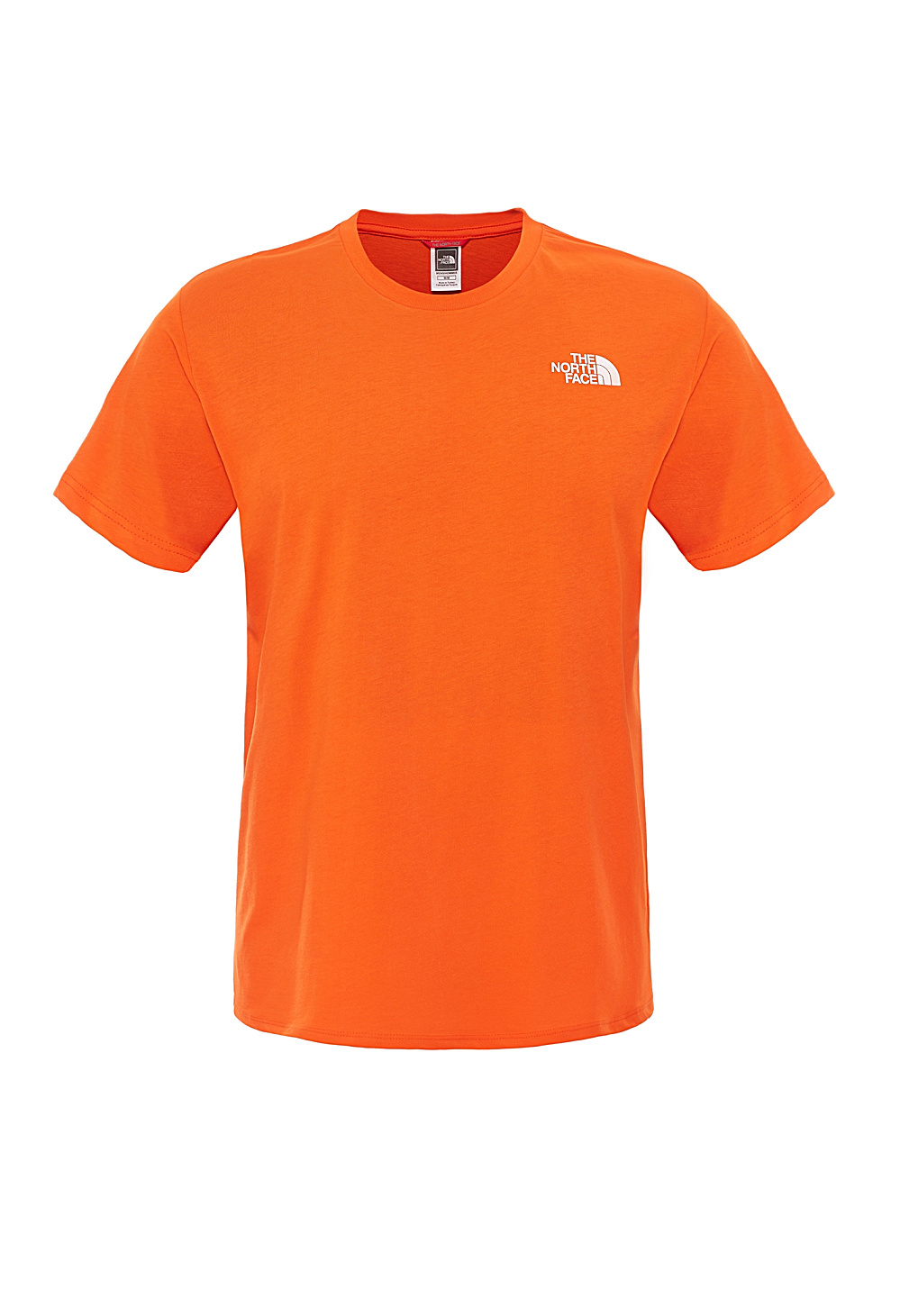 camisetas north face hombre red box