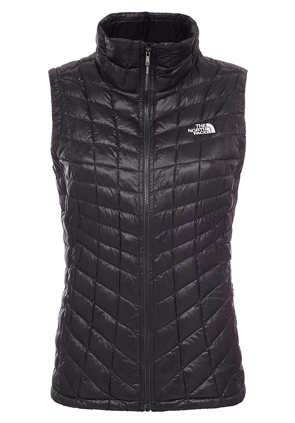 the north face thermoball doudoune sans manche pour femme noir planet sports. Black Bedroom Furniture Sets. Home Design Ideas