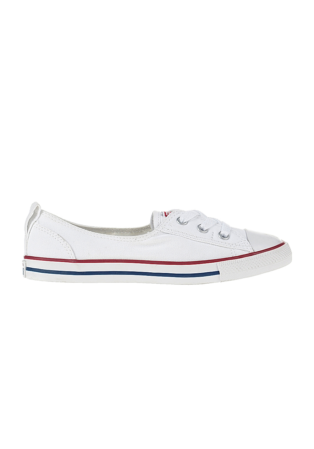 Converse Chuck Taylor All Star Ballet Lace Sneakers for Women White