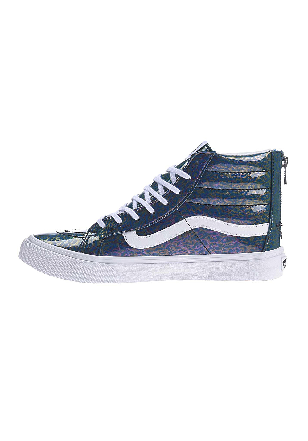c11208f44d6fb3 Vans SK8-Hi Slim Zip - Sneakers for Women - Blue - Planet Sports