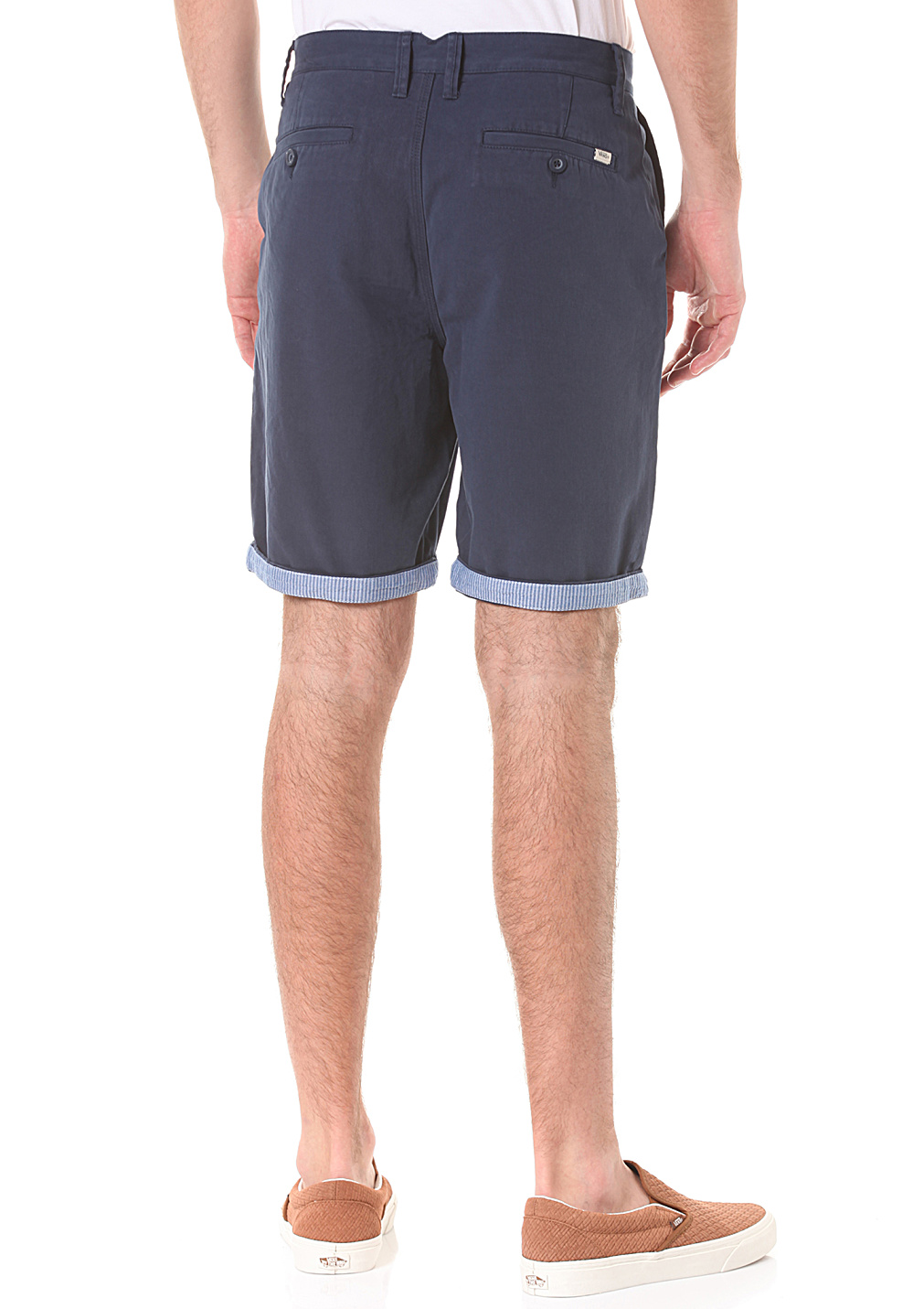 b058cec77b ... Vans Excerpt Cuff - Chino Shorts for Men - Blue. Back to Overview. 1   2  3  4. Previous. Next