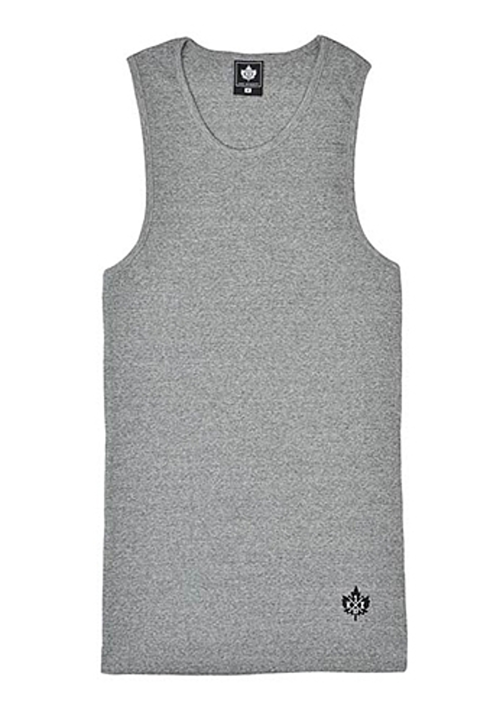 K1X Authentic Wifebeater - Top for Men - Grey - Planet Sports