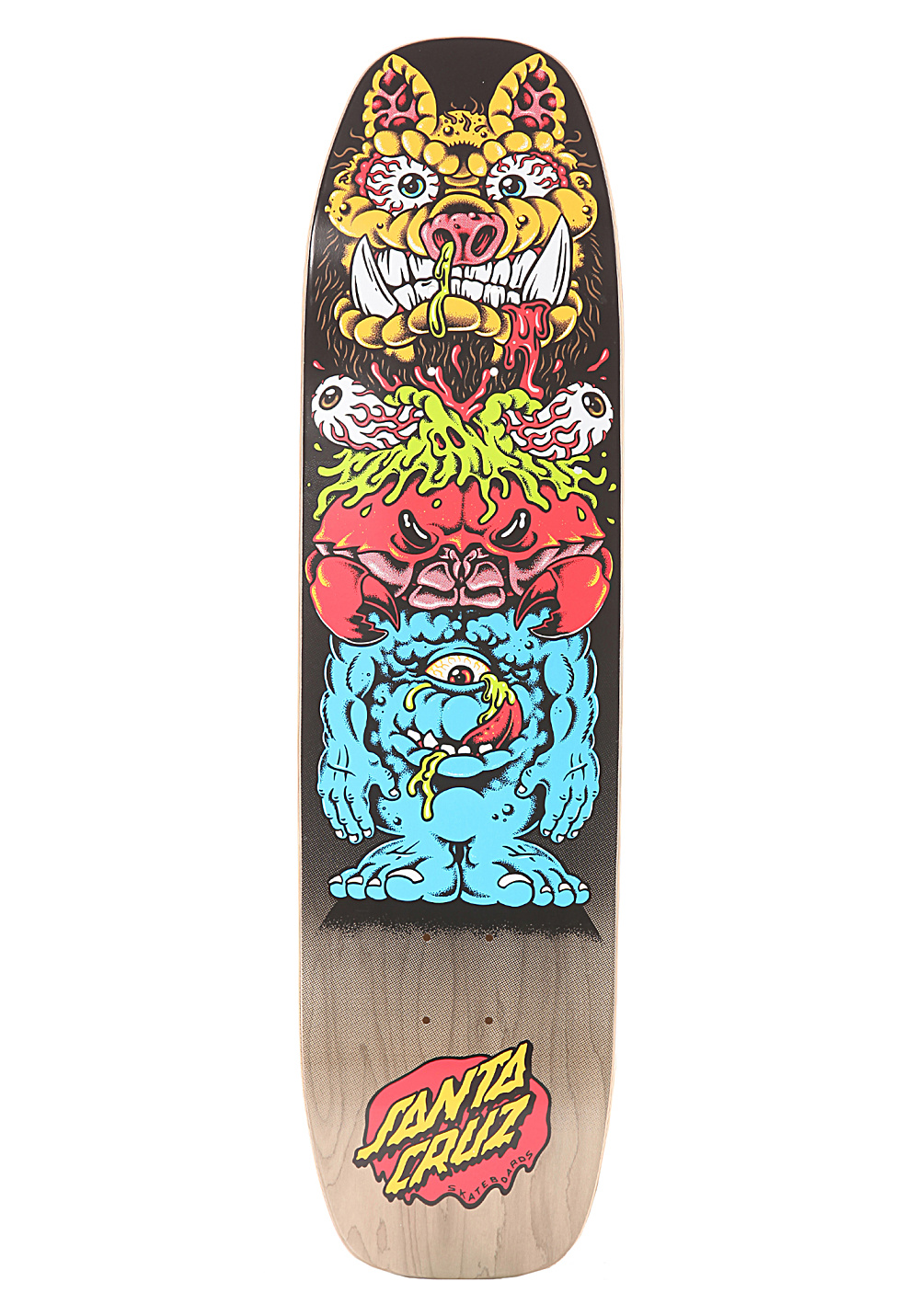 Santa cruz totem gross 8 3 39 tavola da skate multicolore planet sports - Tavole da snowboard santa cruz ...