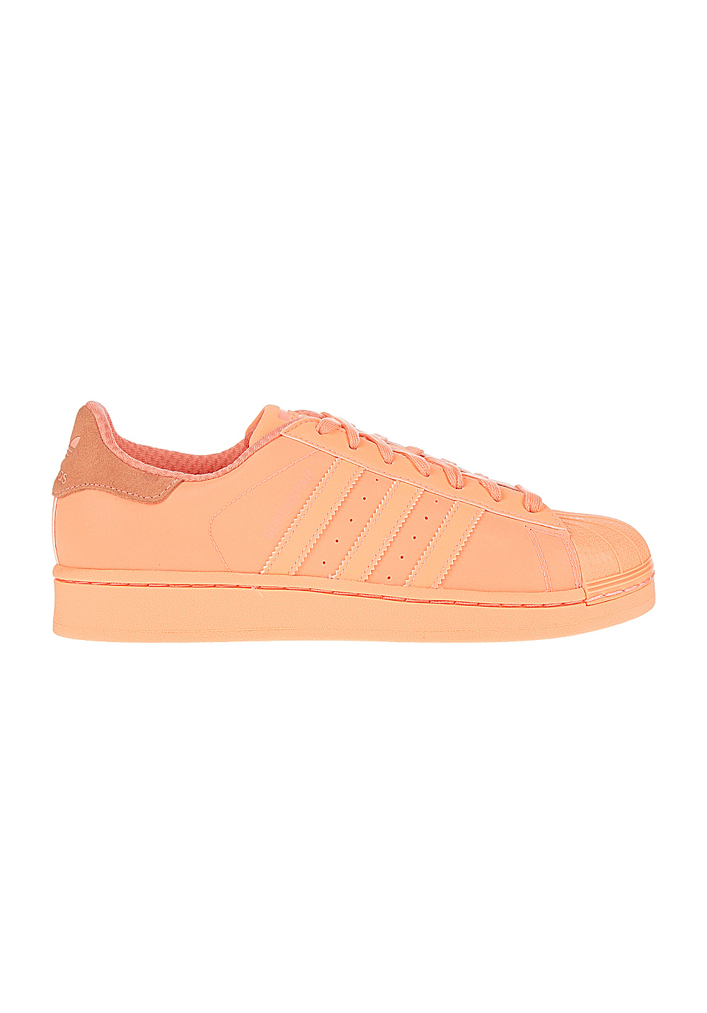 adidas Superstar Adicolor Reflective shoes sunglow Stylefile